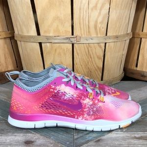 Nike Free 5.0 TR Fit 4 Fusion Pink Running Shoes